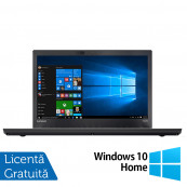 Laptop LENOVO ThinkPad T470p, Intel Core i7-7700HQ 2.80GHz, 16GB DDR4, 240GB SSD, 14 Inch Full HD, Webcam + Windows 10 Home, Refurbished Laptopuri Refurbished
