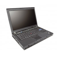 Laptop Lenovo ThinkPad R61, Intel Core 2 Duo T7100 1.80GHz, 2GB DDR2, 80GB SATA, DVD-ROM, 14.1 Inch, Fara Webcam