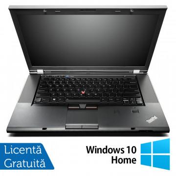 Laptop Lenovo ThinkPad W530, Intel Core i7-3610QM 2.30GHz, 8GB DDR3, 120GB SSD, nVIDIA Quadro K1000M, DVD-RW, 15.6 Inch, Webcam + Windows 10 Home, Refurbished Laptopuri Refurbished