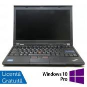 Laptop LENOVO ThinkPad X220, Intel Core i5-2430M 2.40GHz, 4GB DDR3, 120GB SSD, Webcam, 12.5 Inch + Windows 10 Pro, Refurbished Laptopuri Refurbished