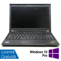 Laptop LENOVO ThinkPad X220, Intel Core i5-2430M 2.40GHz, 4GB DDR3, 120GB SSD, Webcam, 12.5 Inch + Windows 10 Pro
