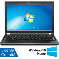 Laptop LENOVO Thinkpad x230, Intel Core i5-3320M 2.60GHz, 4GB DDR3, 120GB SSD, 12.5 Inch, Webcam + Windows 10 Home