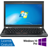 Laptop LENOVO Thinkpad x230, Intel Core i5-3320M 2.60GHz, 4GB DDR3, 120GB SSD, 12.5 Inch, Webcam + Windows 10 Pro