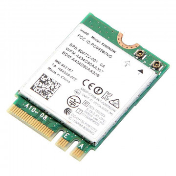 Modul M.2 2230 Wireless Intel Dual Band 8265NGW, 867Mbps, Second Hand Componente Laptop