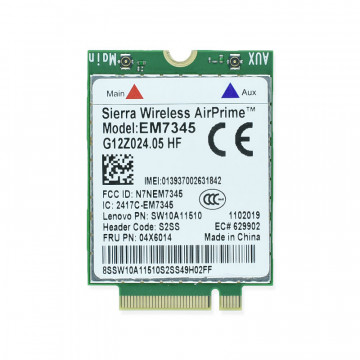 Modul Modem 4G Sierra Wireless AirPrime EM7345, Second Hand Componente Laptop