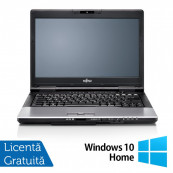 Laptop FUJITSU SIEMENS Lifebook S752, Intel Core i3-3110M 2.40GHz, 4GB DDR3, 320GB SATA, DVD-RW + Windows 10 Home, 14 Inch, Refurbished Laptopuri Refurbished