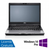Laptop FUJITSU SIEMENS Lifebook S752, Intel Core i3-3110M 2.40GHz, 4GB DDR3, 320GB SATA, DVD-RW + Windows 10 Pro, 14 Inch, Refurbished Laptopuri Refurbished