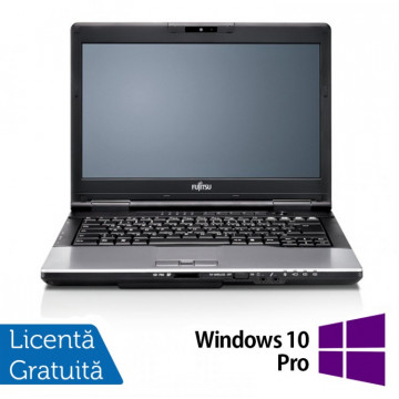 Laptop FUJITSU SIEMENS S752, Intel Core i5-3210M 2.50GHz, 4GB DDR3, 120GB SSD, DVD-RW, 14 Inch + Windows 10 Pro, Refurbished Intel Core i5