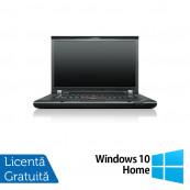 Laptop LENOVO ThinkPad T520, Intel Core i5-2520M 2.50GHz, 4GB DDR3, 500GB SATA, DVD-RW, 15.6 Inch, Webcam + Windows 10 Home, Refurbished Laptopuri Refurbished