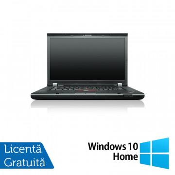 Laptop LENOVO ThinkPad T530i, Intel Core i3-3110M 2.40GHz, 4GB DDR3, 500GB SATA, DVD-RW, 15.6 Inch, Webcam + Windows 10 Home, Refurbished Laptopuri Refurbished