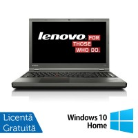 Laptop LENOVO ThinkPad T540P, Intel Core i5-4300M 2.60 GHz, 8GB DDR3, 120GB SSD, 15 Inch + Windows 10 Home