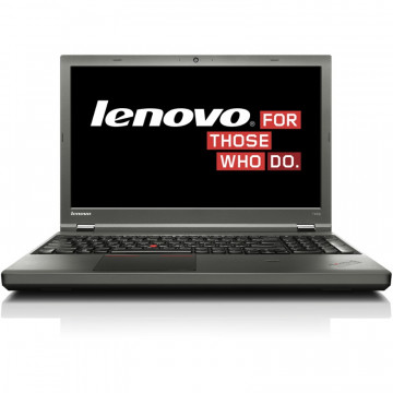 Laptop LENOVO ThinkPad T540p, Intel Core i5-4300M 2.60GHz, 4GB DDR3, 120GB SSD, DVD-RW, 15.6 Inch, Fara Webcam, Tastatura Numerica, Second Hand Laptopuri Second Hand