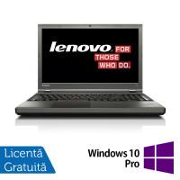 Laptop LENOVO ThinkPad T540P, Intel Core i7-4810M 2.80GHz, 8GB DDR3, 240GB SATA, DVD-RW, Full HD, Fara Webcam, 15.6 Inch + Windows 10 Pro