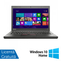 Laptop LENOVO ThinkPad T450, Intel Core i5-5300U 2.30GHz, 8GB DDR3, 120GB SSD + Windows 10 Home