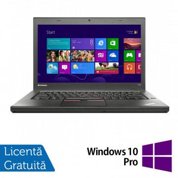 Laptop LENOVO ThinkPad T450, Intel Core i5-5300U 2.30GHz, 8GB DDR3, 120GB SSD + Windows 10 Pro Laptopuri Refurbished