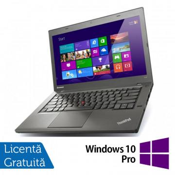 Laptop Refurbished LENOVO ThinkPad T440, Intel Core i5-4300U 1.90GHz, 4GB DDR3, 500GB SATA, 1600x900 + Windows 10 Pro Laptopuri Refurbished