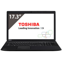 Laptop Toshiba Satellite Pro C70-B-11D, Intel Core i3-4005U 1.70GHz, 4GB DDR3, 500GB SATA, DVD-RW, 17.3 Inch HD+, Tastatura Numerica, Webcam