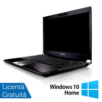 Laptop Refurbished Toshiba Portege R830-13C, Intel Core I5-2520M 2.50Ghz, 4GB, 320GB SATA, 13.3 inch LED, HDMI, Card Reader + Windows 10 Home