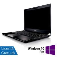 Laptop Toshiba Portege R830-13C, Intel Core I5-2520M 2.50GHz, 4GB DDR3, 320GB SATA, DVD-RW, 13.3 Inch, Webcam + Windows 10 Pro