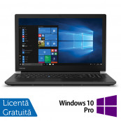 Laptop Toshiba TECRA A50-F, Intel Celeron Processor 4205U 1.80GHz, 4GB DDR4, 128GB SSD, 15.6 Inch, Tastatura Numerica, Webcam + Windows 10 Pro Education, Refurbished Laptopuri Refurbished