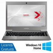 Laptop Toshiba Portege Z930-110, Intel Core i5-3317U 1.70GHz, 4GB DDR3, 120GB SSD M.SATA, 13.3 Inch, Webcam + Windows 10 Home, Refurbished Laptopuri Refurbished