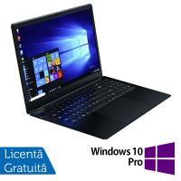 Laptop Nou Slim School WEIGO WHA-156H, Intel Quad Core Celeron N4100, 1.10 - 2.40GHz, 8GB DDR4, 64GB eMMC + 128GB SSD, 15.6 Inch IPS Full HD, Webcam + Windows 10 Pro