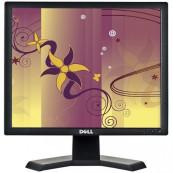Monitor DELL E170SB, LCD, 17 Inch, 1280 x 1024, VGA, Second Hand Monitoare Second Hand
