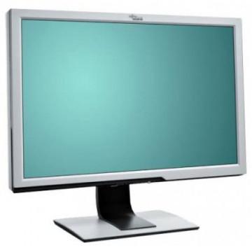 Monitor FUJITSU SIEMENS P24W-5, 24 Inch LCD, 1920 x 1200, HDMI, DVI, VGA, USB, Widescreen, Fara Picior, Grad A-, Second Hand Monitoare cu Pret Redus