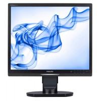 Monitor LCD Philips 19S1, 19 inch, 1280 x 1024, 5 ms, 16.7 milioane, VGA, DVI, USB