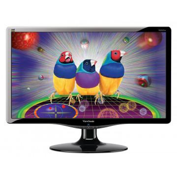 Monitor VIEWSONIC VA2431W, LCD 24 inch, 1920 x 1080, VGA, DVI, WIDESCREEN, Full HD, Grad A- Monitoare cu Pret Redus