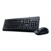 Kit Tastatura + Mouse cu fir Genius KM-160, KB-115 + DX-160, USB, negru Periferice