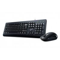 Kit Tastatura + Mouse cu fir Genius KM-160, KB-115 + DX-160, USB, negru
