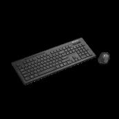Kit Tastatura + Mouse Wireless CANYON, CNS-HSETW4-US, 2 baterii, Negru Periferice