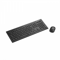 Kit Tastatura + Mouse Wireless CANYON, CNS-HSETW4-US, 2 baterii, Negru