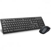 Kit tastatura + mouse Wireless Delux KA150+M136, Negru Periferice