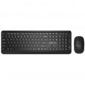 "Kit Tastatura si Mouse DELUX, ""KA190+M320"", wireless, 104 taste format standard, mouse , 3/1 butoane, negru Periferice"