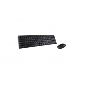 Kit tastatura + Mouse Serioux NK9800WR, Wireless 2.4GHz, US layout, Multimedia, Mouse optic 1200dpi, Negru, USB, Nano receiver Periferice