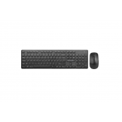 "Kit Tastatura si Mouse DELUX, ""KA150+KA150G"", wireless, 104 taste format standard, mouse , 3/1 butoane, negru Periferice"