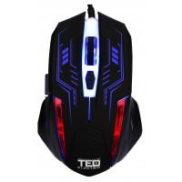Mouse de Gaming 2400dpi, Iluminare LED, cablu USB 1.5M, 6 Butoane, TED-MO531