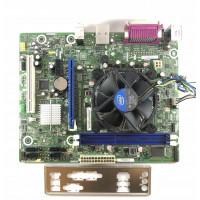 Placa de baza Intel DH61WW, Socket 1155, 2x DDR3, cu Shield + CPU Intel Pentium G640 2.80GHz + Cooler