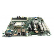 Placa de baza Socket 1155, HP model  611796-003 pentru Elite 8200 MT, DDR3, fara shield, second Hand Componente Calculator