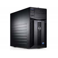 Server Dell PowerEdge T310 Tower, Intel Core i3-540 3.06GHz, 16GB DDR3-ECC, Hard Disk 4 x 2TB SATA, Raid Perc H200, Idrac 6 Enterprise, 2 PSU Hot Swap