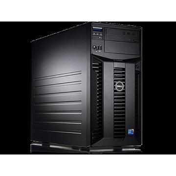 Server Dell PowerEdge T310 Tower, Intel Core i3-540 3.06GHz, 8GB DDR3-ECC, Hard Disk 2TB SAS, Raid Perc H200, Idrac 6 Enterprise, 2 PSU Hot Swap Servere second hand