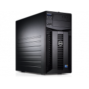 Server Dell PowerEdge T310 Tower, Intel Quad Core Xeon X3430 2.4 GHz-2.8GHz, 16GB DDR3 ECC Reg, 2x 1TB SATA, Raid Controller H200, idrac 6 Enterprise, 2x LAN Gigabit, 2x Surse HOT SWAP, Second Hand Servere second hand