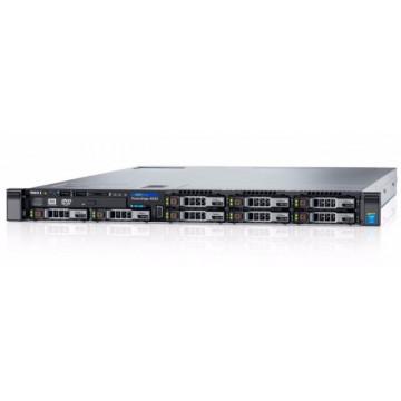 Server Dell R630, 2 x Intel Xeon Hexa Core E5-2620 V3 2.40GHz - 3.20GHz, 32GB DDR4, 4 x HDD 600GB SAS/10K, Perc H730, 4 x Gigabit, 2 x PSU, Refurbished Servere second hand