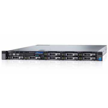 Server Dell R630, 2 x Intel Xeon Hexa Core E5-2620 V3 2.40GHz - 3.20GHz, 64GB DDR4, 4 x HDD 600GB SAS/10K, Perc H730, 4 x Gigabit, 2 x PSU, Refurbished Servere second hand