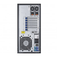 Server Dell PowerEdge T320 Tower, Intel Hexa Core Xeon E5-2430L 2.0 GHz-2.5GHz, 16GB DDR3 ECC Reg, 2x 2TB SATA, Raid Controller H310, idrac 7 Express, 2x LAN Gigabit, 2x Surse HOT SWAP