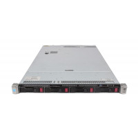 Server HP ProLiant DL360 G9, 1U, 2x Intel (12 Core) Xeon E5-2673 V3 2.4 GHz, 16GB DDR4/2133P ECC Reg, 2 x 2TB SAS HDD, Raid Controller HP P440ar/2GB, 4-port Ethernet 331i + 2-port InfiniBand FDR/Ethernet 40Gb 544+, iLO 4 Advanced, 2x Surse HS 1400W