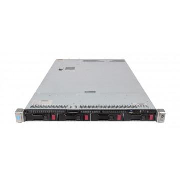 Server HP ProLiant DL360 G9, 1U, 2x Intel (12 Core) Xeon E5-2673 V3 2.4 GHz, 16GB DDR4/2133P ECC Reg, 2 x 2TB SAS HDD, Raid Controller HP P440ar/2GB, 4-port Ethernet 331i + 2-port InfiniBand FDR/Ethernet 40Gb 544+, iLO 4 Advanced, 2x Surse HS 1400W, Refur