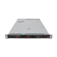Server HP ProLiant DL360 G9, 1U, 2x Intel (12 Core) Xeon E5-2673 V3 2.4 GHz, 64GB DDR4/2133P ECC Reg, 4 x 4TB HDD, Raid Controller HP P440ar/2GB, 4-port Ethernet 331i + 2-port InfiniBand FDR/Ethernet 40Gb 544+, iLO 4 Advanced, 2x Surse HS 1400W